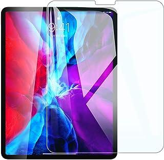 iPad Pro 12.9 ガラスフィルム (2020/2018)用 Face IDに対応 指紋防止 3D タッチ 気泡ゼロ 硬度9H 飛散防止 液晶保護フィルム 第3/4世代対応…