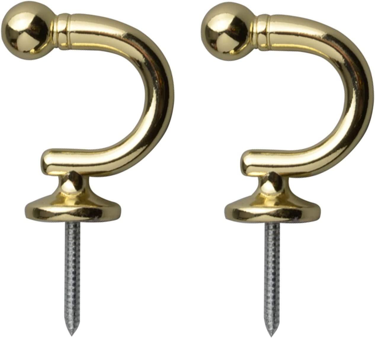 Direct sale of manufacturer Round Head Curtain Hooks Wall Limited price sale Tassel Wind Mounted Tieback Holder
