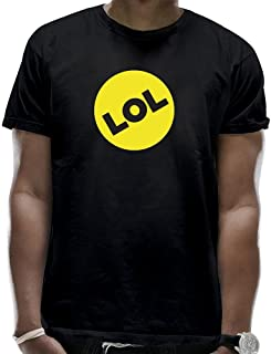 LIDI Men's LOL Awesome Clasic Yellow Round Shirts