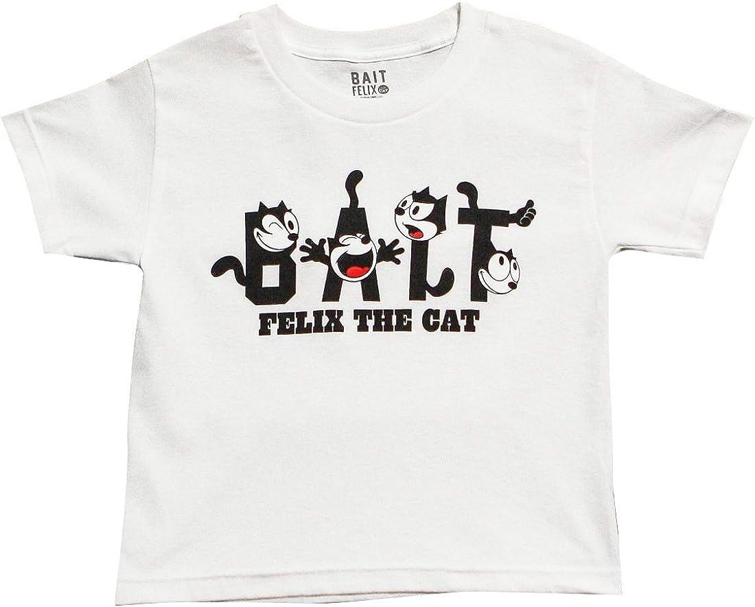 BAIT x DreamWorks Felix The Cat Youth Tee (White)