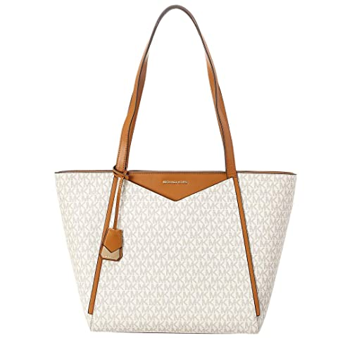 f2a3f99a2bad Michael Michael Kors Whitney Large Top Zip Signature Tote