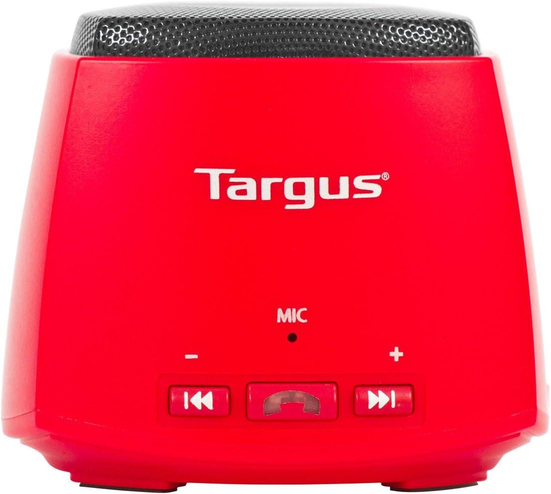 Targus Bluetooth Speaker w/ Microphone, Red (TA-8MBSP-red)