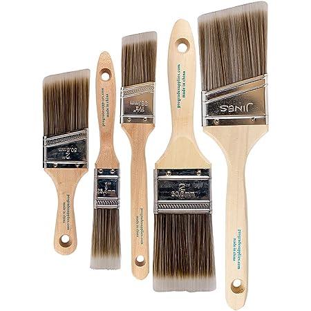 Pro Grade - Paint Brushes - 5 Ea - Paint Brush Set