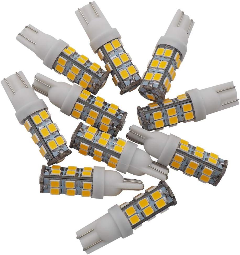 GRV T10 Wedge 192 921 194 25-2835 SMD LED Lights