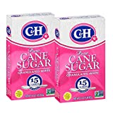 C&H Pure Cane Granulated White Sugar, 1 lb (Pack of 2)