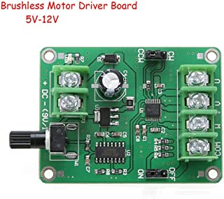 5V-12V DC Brushless Driver Board Controller For Hard Drive Motor 3/4 Wire New #G205M# Best Quality