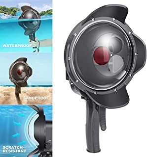 DishyKooker Water Lens Cover Diving Fish Eye Mask Waterproof Case for GO-PRO HERO7//6//5
