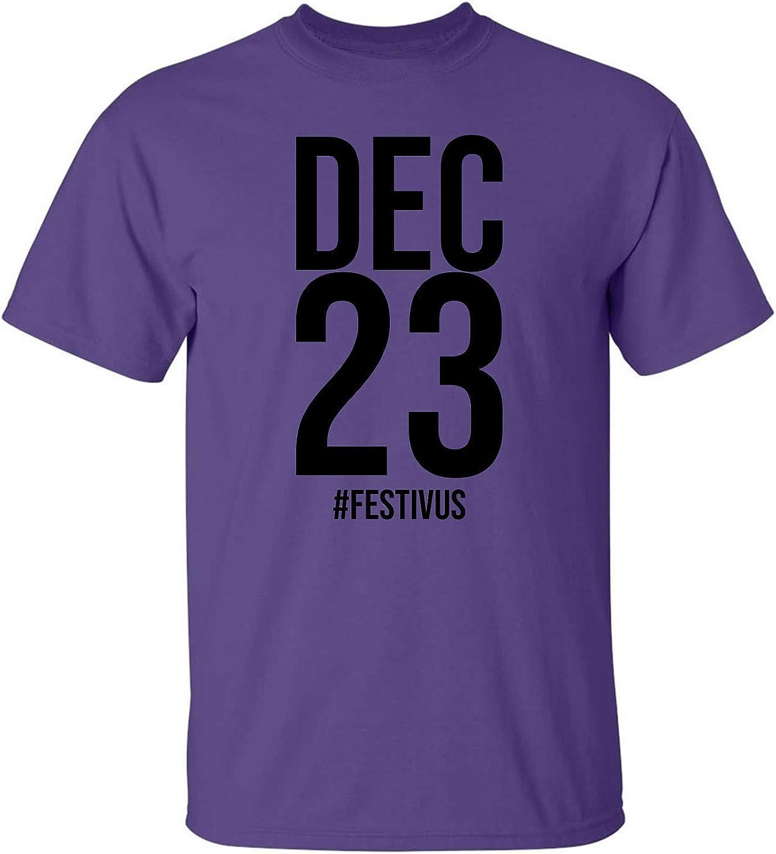 zerogravitee DEC 23#Festivus Adult Short Sleeve T-Shirt