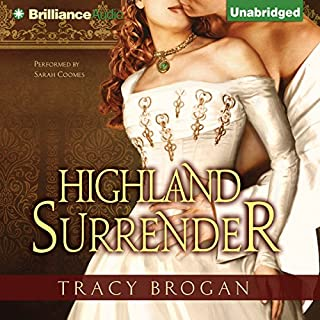 Highland Surrender audiobook cover art