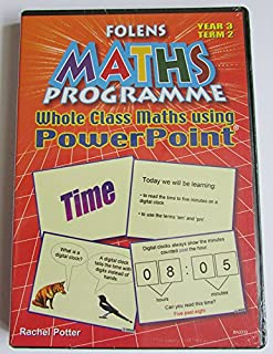 Maths Powerpoint Lesson Starters: Year 3 Spring Term (FMP Powerpoint Presentations)