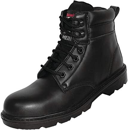 Slipbuster Footwear A318-39 Slip Buster Six Eyelet Safety Boot, Size 39