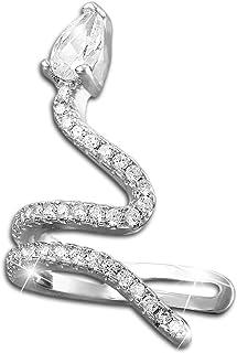 SERPENT Dangle Boucles d/'Oreilles Argent Sterling 925 serpent