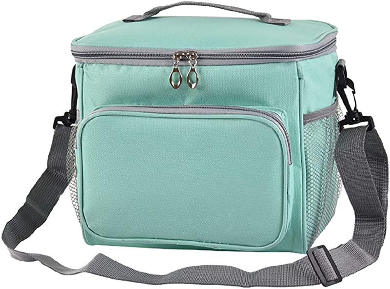 Ktyssp Insulated Lunch Bag Portable Travel Picnic Lunch Tote Box For Women Men Lunch Bag