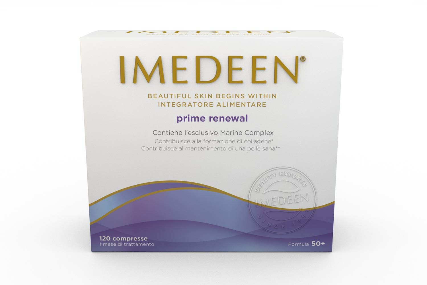 Imedeen Prime Renewal (120 Count) Skin Collagen Formula for 50 Plus Skincare Beauty Supplement