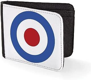 Roundel Target Mod Sublimation Printed Purse Card Holder Wallet