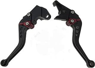 Short Brake Clutch Levers for SUZUKI GSXR600 1997-2003,GSXR750 1996-2003,GSXR1000 2001-2004,GSR750 GSX-S750 2011-2019,TL1000S 1997-2001,SFV650 Gladius 2009-2015,DL650 Vstrom 2011-2019,GSR600 2006-2011