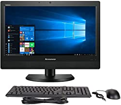 Lenovo ThinkCentre M93z 23 Inch All-in-One PC, Intel Quad Core i5-4570S up to 3.6GHz, 8G DDR3, 500G, DVD, WiFi, BT 4.0, Wi...