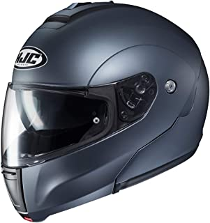 HJC Solid Men's CL-MAX 3 Modular Street Motorcycle Helmet - Semi Flat Anthracite/X-Large