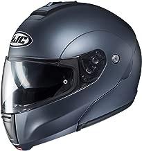 HJC Solid Men's CL-MAX 3 Modular Street Motorcycle Helmet - Semi Flat Anthracite / 2X-Large