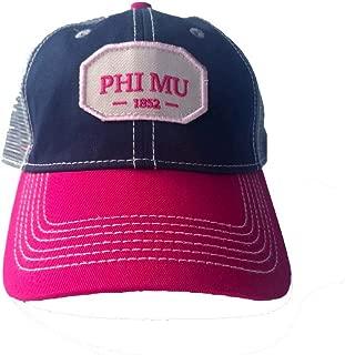 Phi Mu Hat I Trucker Style Baseball Cap