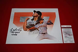 Dereck Rodriguez Autographed Photo - 11X14 witnessed COA 2 - JSA Certified - Autographed MLB Photos