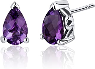 Best pear shaped amethyst earrings Reviews
