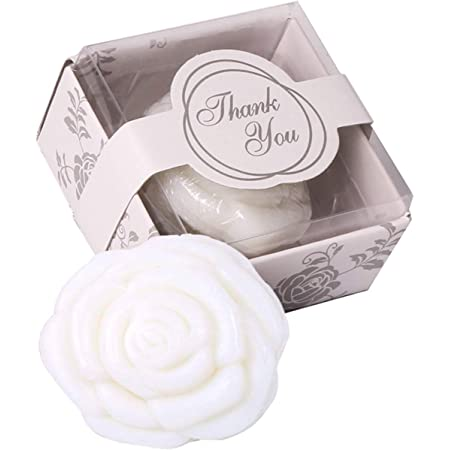 Baby Shower Christening Wedding Favours BABY POWDER 50 x HEART SOAPS 25 WHITE ORGANZA BAGS ONLY
