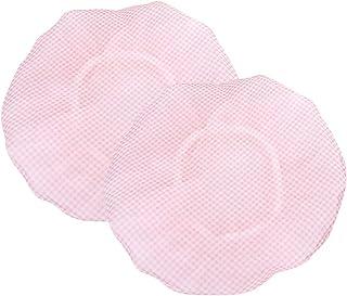Cabilock Women Waterproof Shower Cap Double Layer Bath Cap Protective Waterproof Shower Cap Hair Net Cover for Salon Home Spa 2pcs (Random Color)