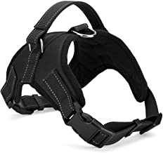 Xanday No Pull Dog Vest Harness, Reflective Dog Body Padded Vest with Handle, Adjustable Dog Walking Harness Comfort Contr...