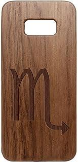 for Samsung Galaxy S8 Plus Black Walnut Wooden Phone Case NDZ - Choose Your Design