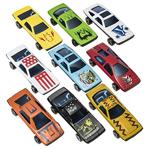 Prextex 100 Pc Die Cast Toy Cars Race Car Party Favors Easter Eggs Filler or Cake Toppers Stocking Stuffers Cars Toys For Kids