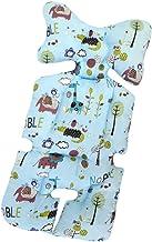 Universal Sitzauflage für Kinderwagen, Buggy Kindersitz und Babyschale, Atmungsaktive Sitzeinlage, Cover Kinderwagen Kissen für kinderwagen,Kinderwagen Sitzauflage Sitzpolster K