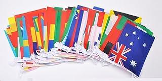 万国旗 100ヶ国 連旗 【長さ25m】 運動会 フェスティバル 国際交流 装飾