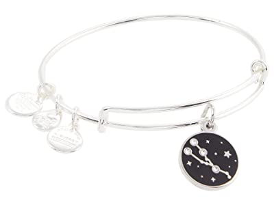 Alex and Ani Color Infusion Taurus Bangle Bracelet (Shiny Silver) Bracelet