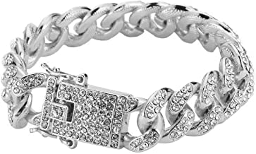 Dubai Collections 14k White Gold 12mm 8