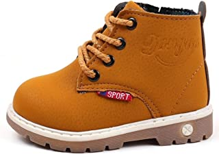 RVROVIC Baby Kids Boots Boys Girls Shoes Hiking Ankle Boots Toddler/Little Kid
