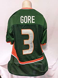 Signed Frank Gore Jersey - Custom - JSA Certified - Autographed College Jerseys