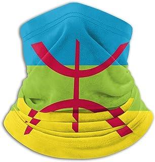 Berber Flag Comfortable Fleece Neck Warmer Winter Scarf Tengyuntong XXWKer Microfibre Chapeaux Tube Masque Visage Tour de Cou Cagoule