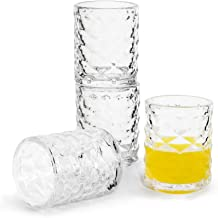 Sagaform 5017689 Club shot glass, 4 pack, clear