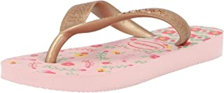 Havaianas Flores, Chanclas para Niñas, Multicolor (Crystal Rose/Rose Gold Metallic 7667), 31/32 EU