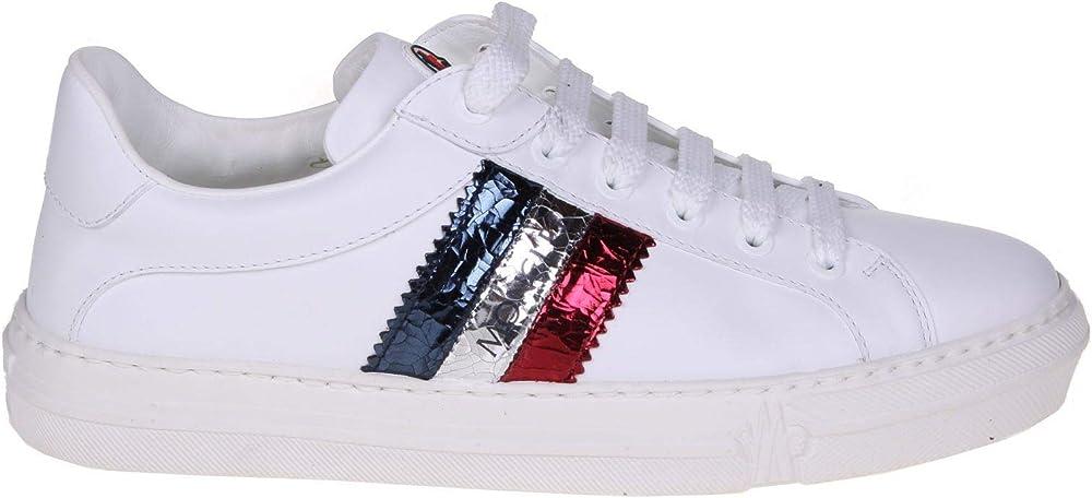 Moncler luxury fashion,scarpe sportive,sneakers per donna,in vera pelle 205860001ALG002