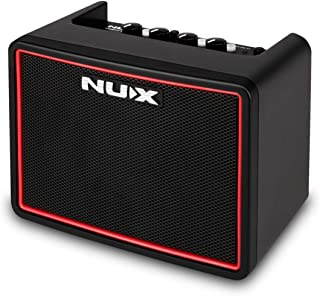 NUX Mighty Lite BT Mini Portable Modeling Guitar Amplifier with Bluetooth (Renewed)