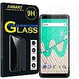AnnaRT® [2 piezas Protector de pantalla de cristal templado para Wiko View Max 5.99' [Dimensiones específicas del teléfono: 157.1 x 75 x 8.1 mm] – Transparente