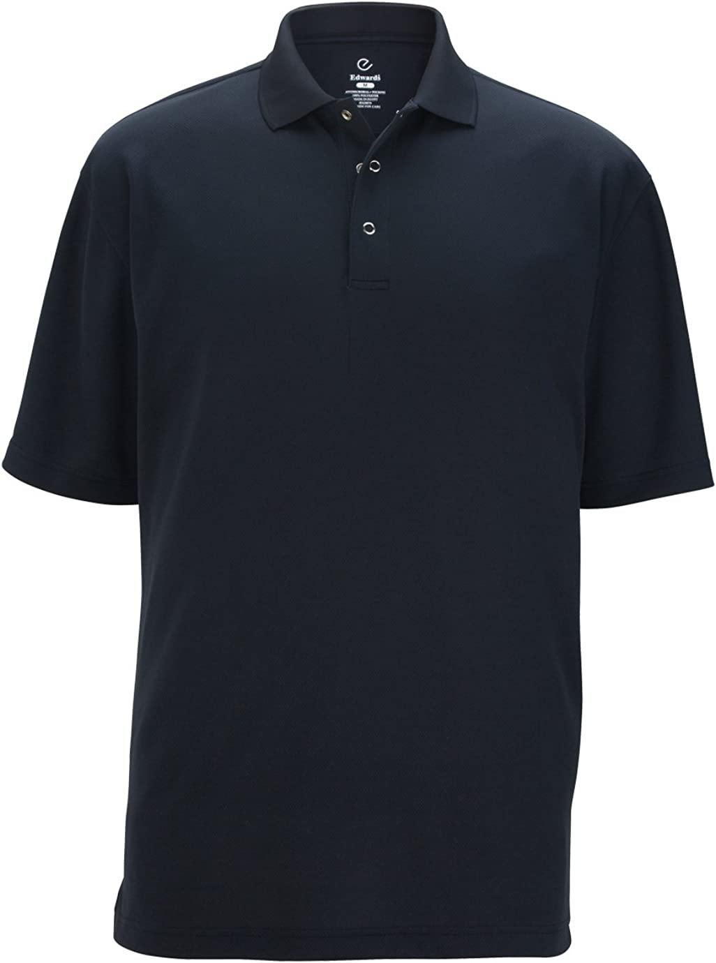 Ed Garments Men's Snap Front Short Sleeve Polo