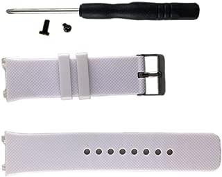 Smart watch DZ09 band made of silcone strap White