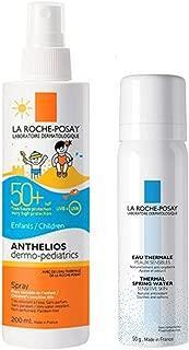La Roche-Posay(ラロッシュポゼ) 【フェイス・ボディ用キッズ用日やけ止めスプレー<ミスト状化粧水付>】 アンテリオス キッズ ミルク SPF50+/PA++++ 200mL + ターマルウォーター 50g