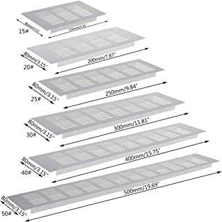 1,0/mm d/épaisseur trous d/écal/és B/&T Metall T/ôle perfor/ée en aluminium RV 3-5 diam/ètre des perforations 3/mm