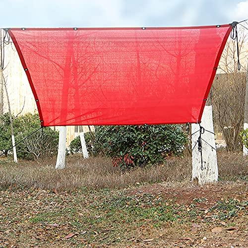 Red de sombreado Espesar Tela De Sombra, para Pérgola Invernadero Jardín Exterior Vela De Sombra, Viento Resistente 1x2m, 2x2m, 2x5m, 3x3m, 3x5m