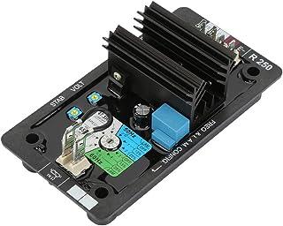 Regulador de voltaje R250 AVR,Accesorios del sistema de generación diesel sin escobillas,Potencia de entrada voltaje 120 (90-140) VAC monofásico,Suministro protegido con un fusible de 8A