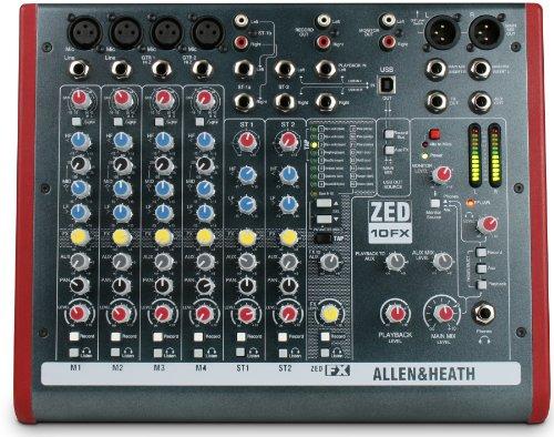 Allen & Heath ZED-10FX · Mischpult